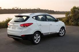 hyundai tucson 2014 blue 2015 hyundai tucson fuel cell first drive motor trend