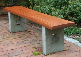 deluxe w x l concrete patio bench shop patio benches at to
