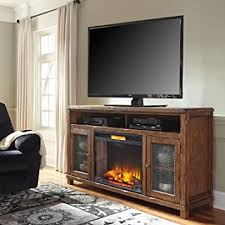 Amazon Fireplace Tv Stand by Amazon Com Ashley Tamonie W830 68 72 U0026quot Extra Large Tv Stand