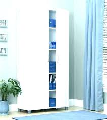 storage cabinets for mops and brooms shallow broom closet clever tall storage cabinet white gloss broom