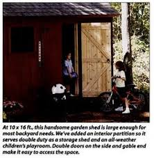 How To Build A Easy Storage Shed by How To Build A Storage Shed 6 Steps