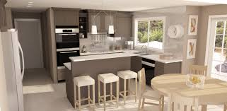 fantastic kitchen color trends with cabinet in soft gray and white