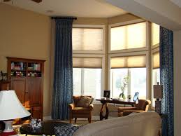Fabric Blinds For Windows Ideas Home Decor Bay Window Shades Windows Fabric Blinds For