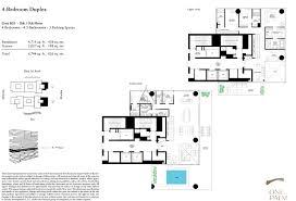 palm 4 bedroom duplex floor plan 2