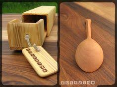 small cherry wooden tea coffee spoon hand carved wood kitchen