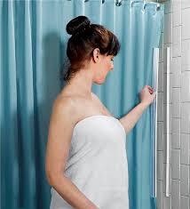 Magnetic Shower Curtain Liner Magnetic Shower Curtain Holder Gadgets Problem Solvers