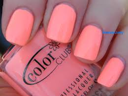 coral color color club girl about town beautyjudy