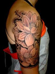 tattoo roses on shoulder lotus flower tattoo on shoulder google search tattoos