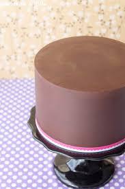 how to ganache a cake tutorial sweetness u0026 bite