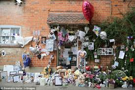 george michael oxfordshire home transformed into shrine daily