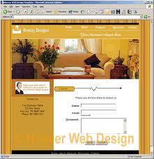 swish web templates preview interior designers template 1200