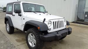 jeep wrangler white 4 door tan interior jeep wrangler in st joseph mo car city chrysler dodge jeep ram