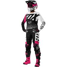kids fox motocross gear 2018 fox racing youth girls 180 gear kit black pink sixstar racing