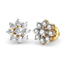 gold ear studs 50 stud earrings designs best 25 gold earrings designs ideas on