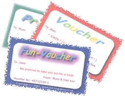 gift voucher samples fun vouchers