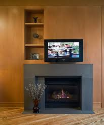 Contemporary Fireplace Doors by Interior Gorgeous Image Of Home Interior Decorating Using Modern