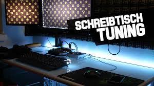 Schreibtisch 1 Meter Schreibtisch Tuning Unterbodenbeleuchtung Ftw Youtube