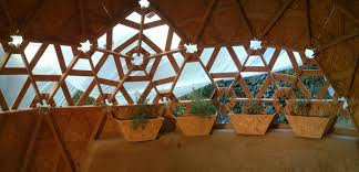 geodesic dome home interior diy wooden dome built from pallets