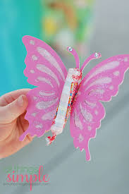 butterfly party favors all things simple celebrate madilyn s fairy party kids