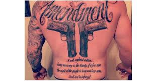 10 tattoos that prove people love their gun rights