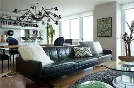 Black Leather Sofa Interior Design Wearstler Kitchen Archives Design Intervention Diary