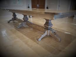 trestle tables for sale farmhouse trestle tables for sale in naples design your own
