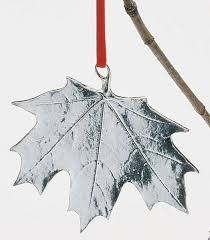vilmain maple leaf ornament