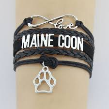 infinity braid bracelet images Online shop drop shipping infinity love maine coon bracelet cat jpg
