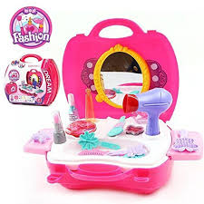 Kitchen Set Toys Box Makeup Set For Children By Glamour Pretend Play Make Up Kit