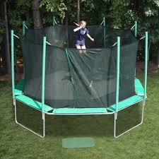 backyard trampolines design and ideas of house