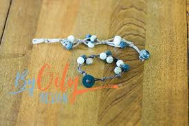 stone bracelet diy images How to make a diffuser bracelet in less than 5 minutes by oily jpg