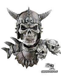 totenkopf maske kronos halloween skull zombie http www