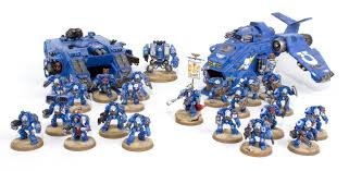 showcase space marine strike force ultra tale of painters
