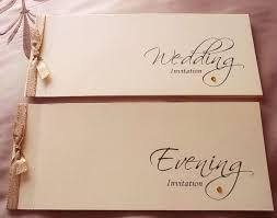 wedding invitations ebay personalised cheque book style wedding invitations ebay