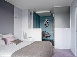 idee chambre parentale avec salle de bain aménagement idee déco chambre suite parentale