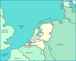 belgium and netherlands map map of netherlands netherlands map shows cities rivers the zuiderzee
