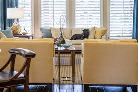 transitional style coffee table before after this living room kitchen remodel shows how