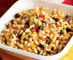 recipes for pasta salad pasta salad with grilled eggplant and feta recipe finecooking