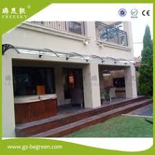 Polycarbonate Window Awnings Yp80100 80x100cm 80x200cm 80x300cm Outdoor Used Window And Door
