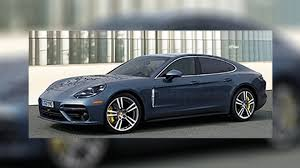 blue porsche panamera 2017 is this the all new 2017 porsche panamera