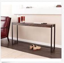 long skinny console table narrow console table ebay