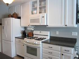 gray kitchen cabinets white appliances cabinet paint that matches white kitchen appliances home