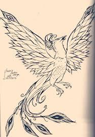 traditional phoenix tattoo designs phoenix tattoo design by