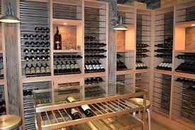 super ideas to treasure custom wine racks at home home ideas image of custom wine racks wood