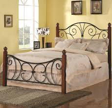 beds wrought iron beds king south sofa with amazon bed frames