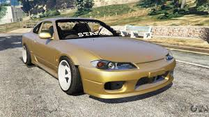cambered smart car nissan silvia s15 wide u0026 camber v0 1 for gta 5