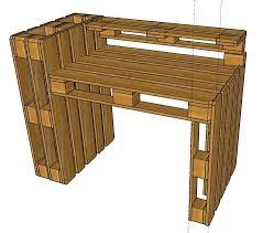 Diy Pallet Desk Pallet Desk Picmia