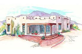 southwest style house plans adobe southwestern style house plan 1 beds 1 00 baths 748 sq