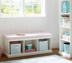 Storage Bench With Cushion Cushion Storage Bench Foter