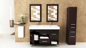 Modern Bathroom Cabinetry Lovely Modern Bathroom Cabinets Storage Fvn8010bw 3 7387 Home